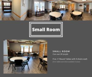 Park Place Community Center - Small Room Photos